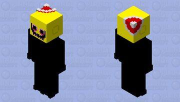 festive lemon demon Minecraft Skin