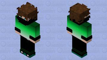 Green Fade (Male) Minecraft Skin