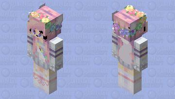 Kawaii Fox Girl Minecraft Skin