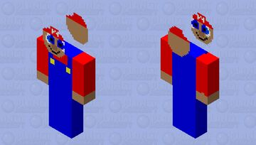 Cursed skin 4 hairless mario Minecraft Skin