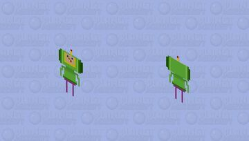 """The Prince of All Cosmos (From the 2004 Videogame, """"Katamari Damacy"""") Minecraft Skin"""