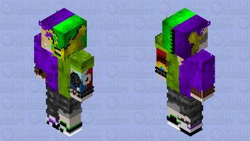 Torn mask #1 Minecraft Skin