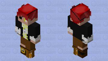 Human Rockstar Foxy Minecraft Skin