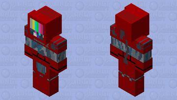 Tech Head - Arsenal Minecraft Skin