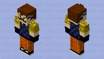 The Neighbor(Mr.Peterson) Hello Neighbor 2 Minecraft Skin