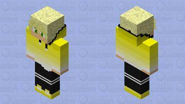 Yellow Fade Mac (Male) Minecraft Skin
