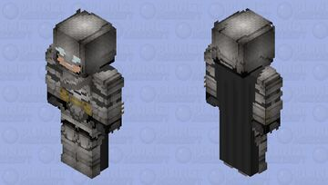 Batman (Armored): Batman V Superman: Dawn of Justice Minecraft Skin