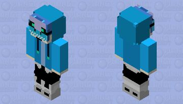 TRYING NEW COLORS .... Minecraft Skin
