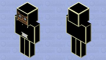 i love music (remove the jacket ,hat ,sleeves ,and pants to see the i love music skin) Minecraft Skin