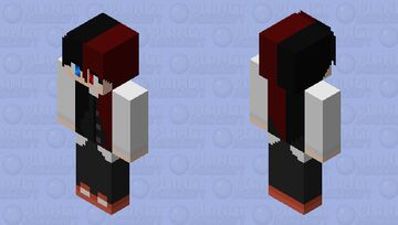 Maid Gang Akunin Minecraft Skin