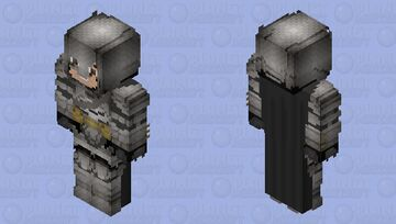 Batman (Armored: Battle Damaged): Batman V Superman: Dawn of Justice Minecraft Skin