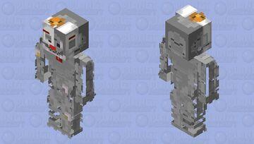 Ennard / face plate open Minecraft Skin