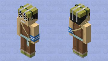Usopp (Pre-Timeskip) Minecraft Skin