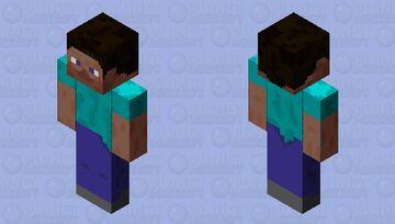 Steve HD Bedrock ⛏ Minecraft Skin