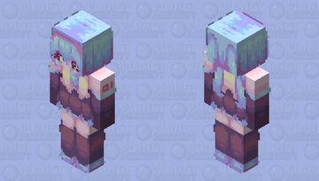 ~ M i k u , M i k u , Y o u C a n C a l l  M e M i k u ! ~ Minecraft Skin