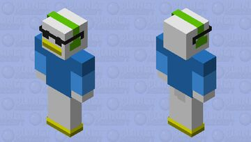 Djdaperdewey bedrock edition Minecraft Skin
