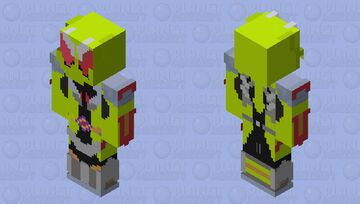 kamen rider thouser amazing hopper (fanmade) Minecraft Skin