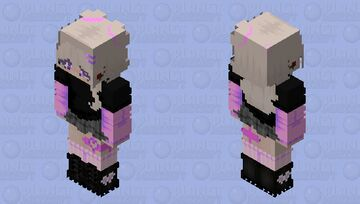 ~ + Pastel Grunge + ~ Minecraft Skin