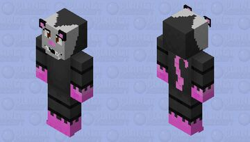Poppy the opossum Minecraft Skin