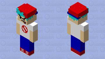 boyfriend (friday night funkin) Minecraft Skin