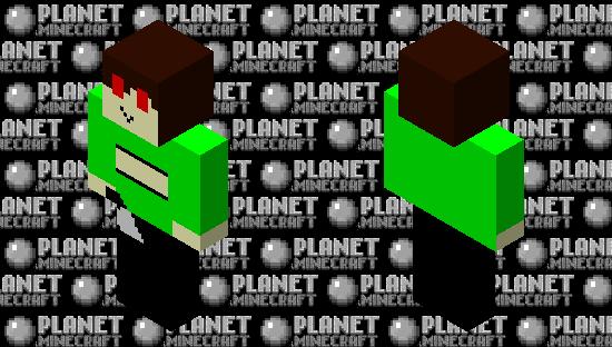 Chara Fnf Minecraft Skin