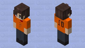 Prisoner mike Minecraft Skin