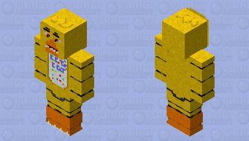 Chica Minecraft Skin