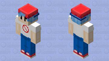Friday Night Funkin' (Main character) Minecraft Skin