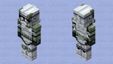 Captain Grey | The Bad Batch Minecraft Skin