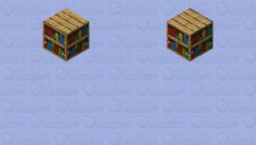 bookshelf Minecraft Skin