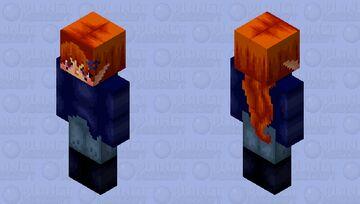 ELF REDHEAD//cottage elf//male//female//nonbinary//genderfluid//FINISHED HD 128X128 Minecraft Skin