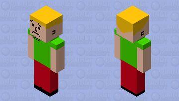 Shaggy Rogers Minecraft Skin
