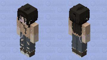 Ghost Larry Johnson Minecraft Skin