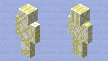 i did it blinded Minecraft Skin