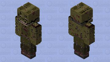 𝑆𝑡𝑦𝑙𝑖𝑧𝑒𝑑 𝑆𝑝𝑟𝑖𝑛𝑔𝑇𝑟𝑎𝑝 Minecraft Skin