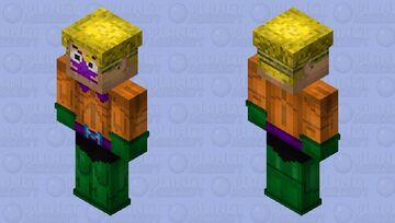 Mermaid Man from the Mermaid & Barnacle Boy TV show Minecraft Skin