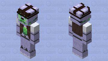 MNAF Senary Saloon- Barhop Bonnie Minecraft Skin
