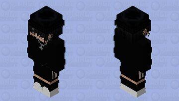 black suit Minecraft Skin