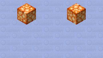 shroomlight Minecraft Skin