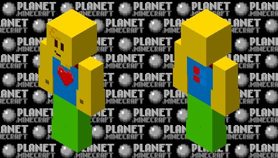 Noobie Skin (Remake and HD) Minecraft Skin