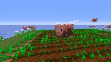 Peegs - Pig bees Minecraft Texture Pack