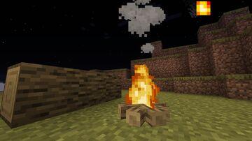 New Default Campfire Minecraft Texture Pack