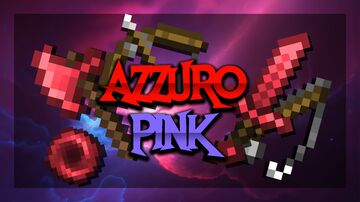 Azzurro [Pink Edit] FPS Pvp Pack (animated ender pearl!) Minecraft Texture Pack