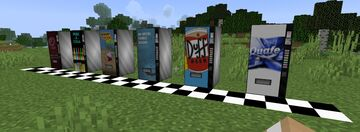 Arkys Fictional Drinks Vending Machine PACK 2 Minecraft Texture Pack