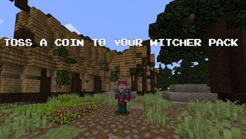 Toss A Coin To Your Witcher pack Minecraft Texture Pack