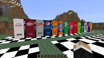 Real Drinks MEGAPACK (replaces glazed terracotta) Minecraft Texture Pack