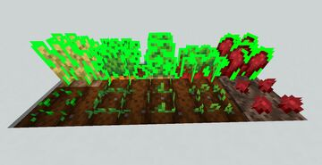 Dragoon's Highlighted Crops Minecraft Texture Pack