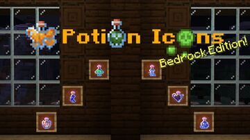 Potion Icons: Bedrock Edition Minecraft Texture Pack