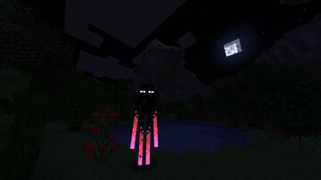 Glowing Enderman Minecraft Texture Pack