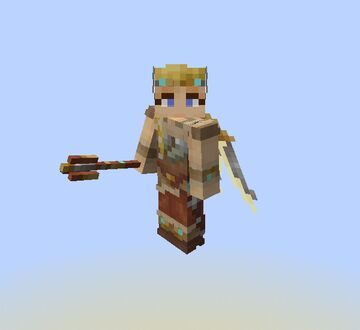Valkyrie Mercy Accessories (Elytra and Sword Textures) - Overwatch Minecraft Texture Pack